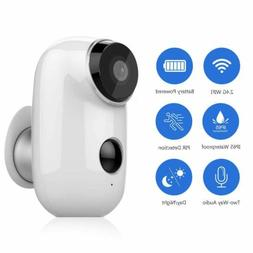 100% Wireless Battery IP Camera 720P Rechargeable In/Outdoor