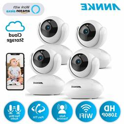 1080p 2mp smart wireless security camera pan