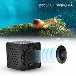 1080P 4K Infrared Mini Motion Detection WiFi Camera Home Sec