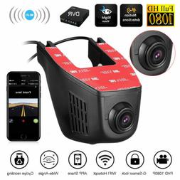 WiFi Hidden 1080P Dual Lens Car DVR Dash Cam Video Recorder