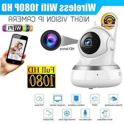 1080P HD Home Security IP Camera Wireless Wi-Fi Automatic Tr