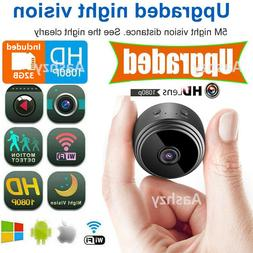 1080P HD Mini Hidden Spy Camera Wireless Wifi Ip Camera Nigh