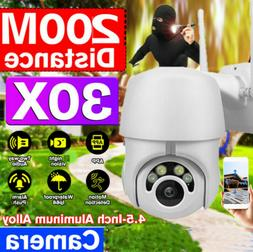 1080P HD PTZ Outdoor IR IP Camera Waterproof WIFI Pan Tilt S