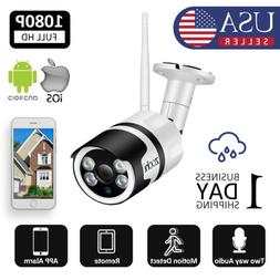 1080P HD Wireless Outdoor Indoor Security WIFI Camera System