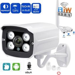 1080P Wireless WIFI IP Camera Sony Sensor Outdoor Security O