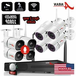 ANRAN 1080P Outdoor WiFi Security Camera System Wireless CCT