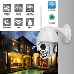 1080p PTZ Outdoor Dome WIFI IP Pan Tilt IR Night Vision Netw