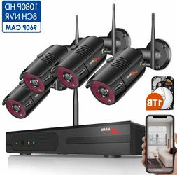 Anran 1080P Wireless Home Security Camera System  960P wirel