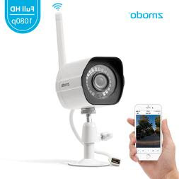 Zmodo 1080p WiFi Outdoor Home Security Camera,Night Vision R
