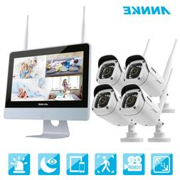 1080p wireless security camera system 4ch nvr
