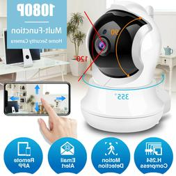 1080P Wireless WIFI Camera Smart Home Security Indoor PTZ Pa