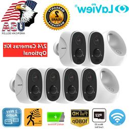 Laview 1080P Wireless WiFi Outdoor Home Security Cameras Sys