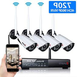 CANAVIS HD 1280×720 Res CCTV Wireless WiFi 1MP Security Net