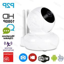 2MP HD Wireless Wifi IP Camera Webcam Baby Pet Monitor CAM R