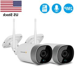 2PCS 1080P Wireless Security Surveillance Camera Home Wifi 3