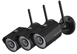 3-Pack Amcrest HDSeries Outdoor 1.3-Megapixel  WiFi Wireless