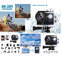 Yuntab HD 1080P 30fps 12 Mega Pixels Sport Mini DV Action Ca