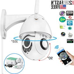 360° CCTV IR Camera Waterproof Outdoor WiFi 1080P HD Home S