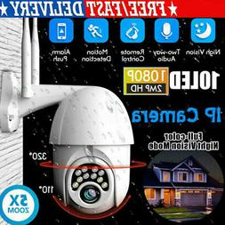 360-degree Smart  WiFi  Outdoor 1080p Dome Camera Security C
