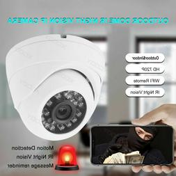 360 Degree Waterproof IR-Cut Dome Security IP Camera WiFi HD