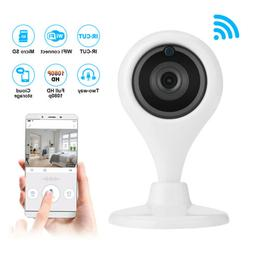 360° Wireless WiFi HD Camera Indoor Security Cam Night Visi