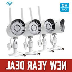 Zmodo 720P Samrt HD IP Outdoor Network Security Camera w/ Ni