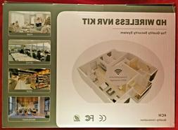 4 Channel HD Wi-Fi Wireless Network IP Security Camera Syste