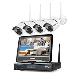 4ch wireless security system