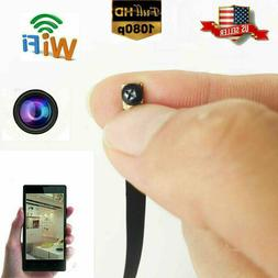 4K smallest wireless WIFI IP DIY pinhole spy hidden Screw ca