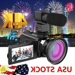 ANDOER 4K WIFI 1080P HD 48MP 16X DIGITAL VIDEO CAMERA CAMCOR