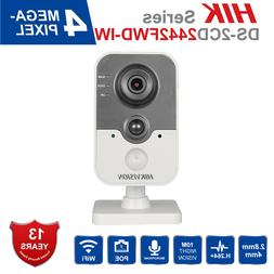 Hikvision 4MP Wifi IP Camera DS-2CD2442FWD-IW 4mm Two-way Au