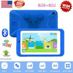 7'' Kids Tablet Pad PC Android 6.0 1+8G WIFI Blutooth Touch