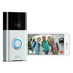 Ring 720P Wi-Fi Video Wired and Wireless Smart Door Bell Cam