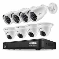 ZOSI 8-Channel DVR video Security Camera System -