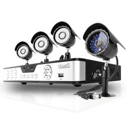 Zmodo 8CH H.264 DVR Video Security Camera System with 4 IR O