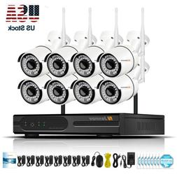 8CH HD 960P Wireless IP Camera Smart Security System Outdoor