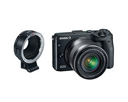 Canon EOS M3 Mirrorless Camera Kit with EF-M 18-55mm Image S