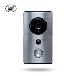 Case of 100, Zmodo Smart Greet Wi-Fi Video Doorbell - Wide V