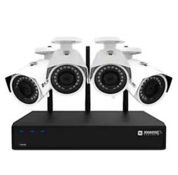 Defender 2K  Wireless 4 Channel 1TB Security System with 4 W