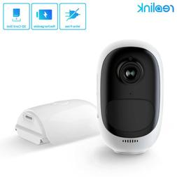 Wireless WiFi Security Camera 1080P Rechargeable Battery Pow