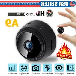A9 Mini WiFi 1080P Hidden Security Camera Motion Detection W