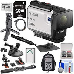 Sony Action Cam FDR-X3000 Wi-Fi GPS 4K HD Video Camera Camco
