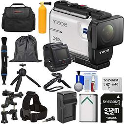 Sony Action Cam FDR-X3000R Wi-Fi GPS 4K HD Video Camera Camc