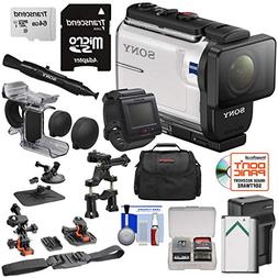 Sony Action Cam HDR-AS300R Wi-Fi HD Video Camera Camcorder &