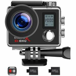 Campark Action Camera 4K 16MP WiFi Underwater 30M Waterproof
