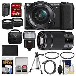 Sony Alpha A5100 Wi-Fi Digital Camera & 16-50mm Lens  with 5