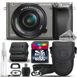 Sony Alpha a6000 Mirrorless Digital WiFi Camera + 16-50mm Le