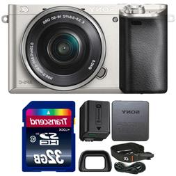 Sony Alpha A6000 Wi-Fi Mirrorless Camera with 16-50mm Lens a