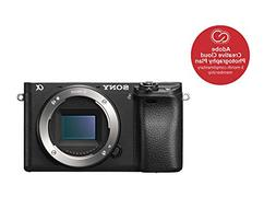 S0ny Alpha A6300 Body Only Digital Mirrorless Cameras - Blac