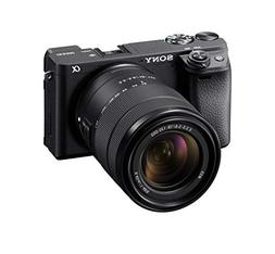 Sony Alpha a6400 Mirrorless Camera: Compact APS-C Interchang
